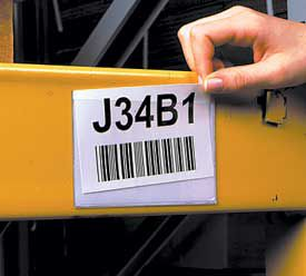 5-3/8 in. x 7-1/4in. Rack and Shelf Card Holders 25 pk