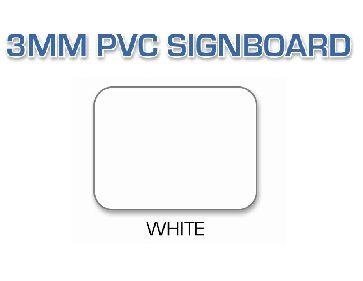 White PVC Signboard