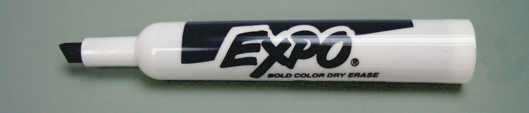 Broad Chisel Point Dry Erase Marker
