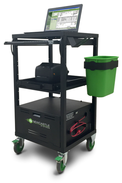 EcoCart Series Mobile Workstation with Powerpack and 40AH Battery 21MEC350