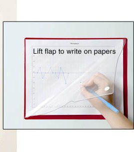 8.5 x 11 Magnetic Document Holder with Flap
