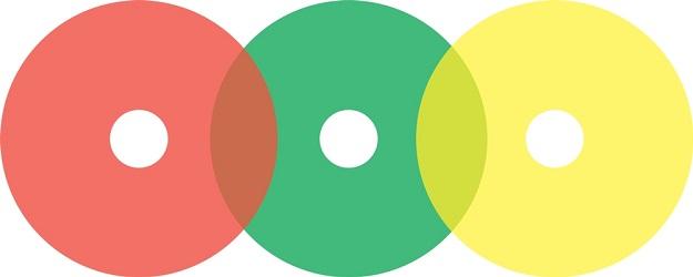 Circle Gauge Marking Label Sheet