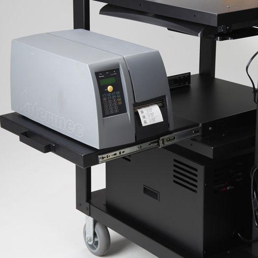 EcoCart Slide-Out Printer Shelf