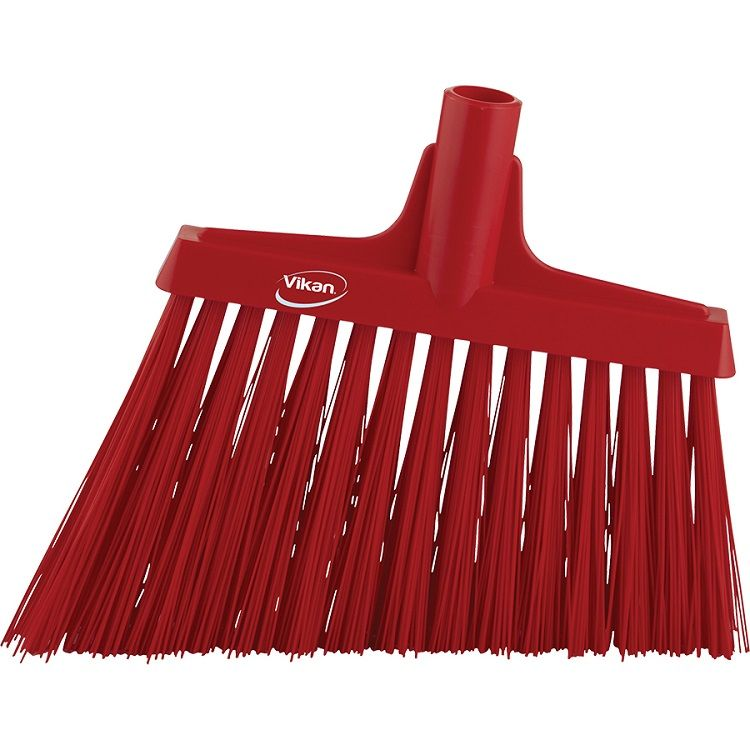 12 in. Angle Upright Broom Head Extra Stiff - EURO