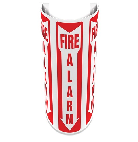 12 inch Slim Fire Alarm 180D Projection Sign