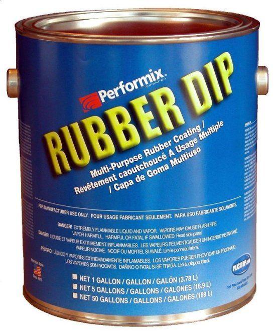 Rubber Dip, 1 Gallon (Plasti Dip)