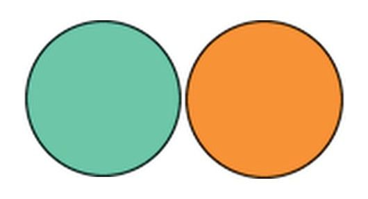3 in. One Color Blank Circles