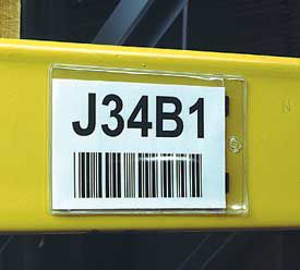 2 in. x 4 in. Job Ticket and Card Holder 25 pk