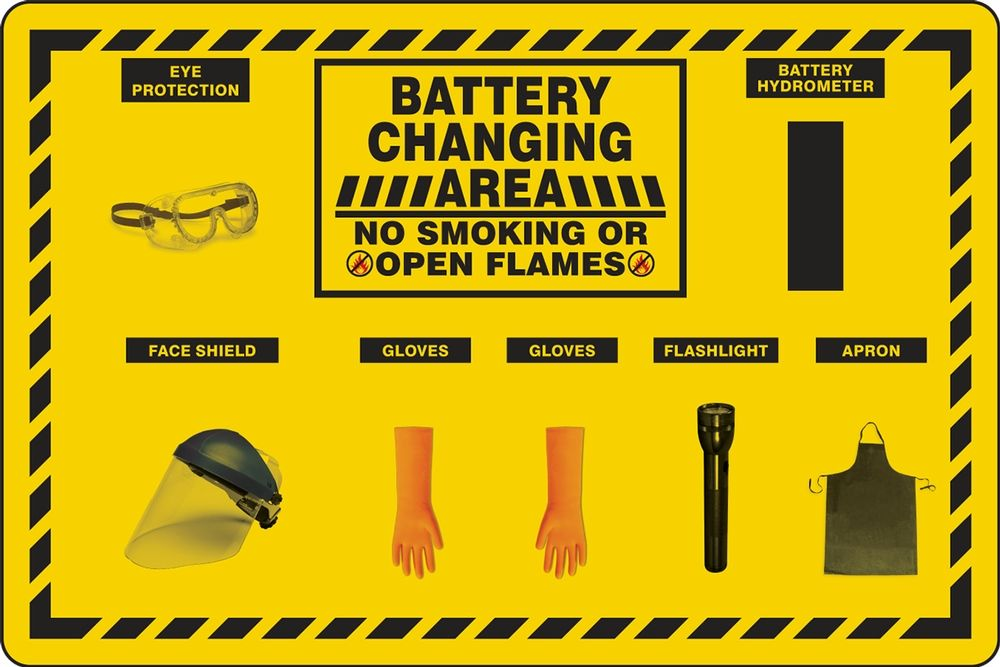 Battery Changing Station Store-Board