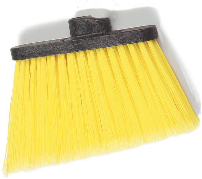 Duo-Sweep Medium Duty Angle Broom Head Flagged