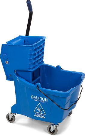 35 QT Mop Bucket with Side Press Wringer