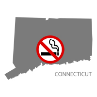 CT Connecticut No Smoking Signs and Labels