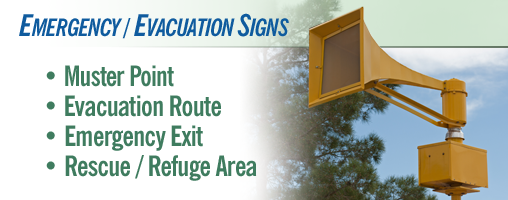 Emergency / Evacuation Signs