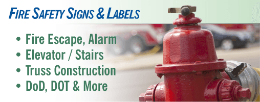 Fire Safety Signs and Labels