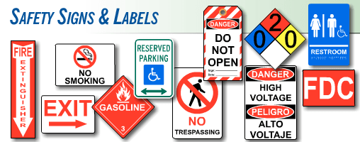 Safety signs and labels easy shopping with guaranteed compliance