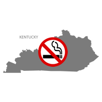 KY Kentucky No Smoking Signs and Labels