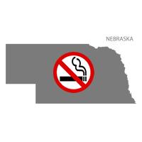 NE Nebraska No Smoking Signs and Labels