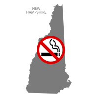 NH New Hampshire No Smoking Signs and Labels