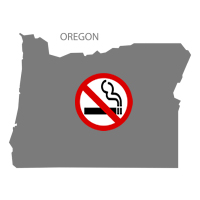 OR Oregon No Smoking Signs and Labels