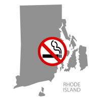 RI Rhode Island No Smoking Signs and Labels