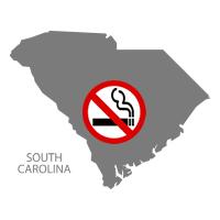 SC South Carolina No Smoking Signs and Labels
