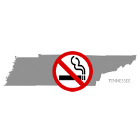 TN Tennessee No Smoking Signs and Labels