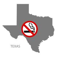 TX Texas No Smoking Signs and Labels