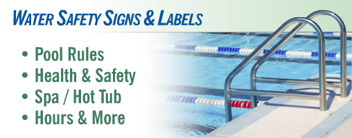 Swimming Pool / Spa / Water Safety Signs