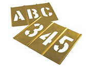 Interlocking Brass Stencils & Accessories