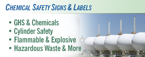 Chemical Safety Signs & Labels