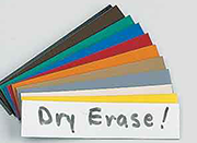 Dry Erase Color Magnets & Accessories