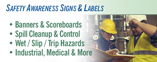 Safety Awareness Signs & Labels