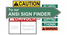 ANSI Safety Signs & Labels