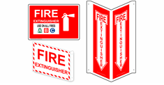 Fire Safety & Fire Exit Signs