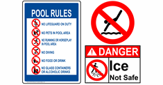 Water Safety & Pool Rules